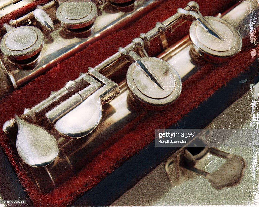 Flute, close-up : Stockfoto