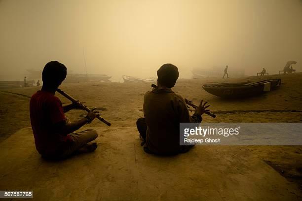 Flute players of varanasi