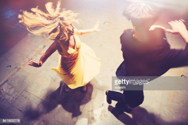 fly away - dancing stock photos and pictures