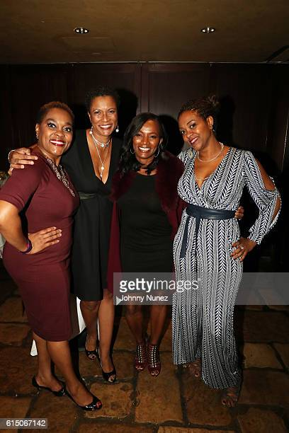 Fly Betty Entertainment's D'Andrea Virgil producer Rachel Frazier Johnson actress Vanessa Bell Calloway and playwright Gabrielle Pina attend the LFZ...