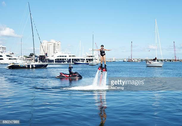 Fly board in Intracoastal Waterway