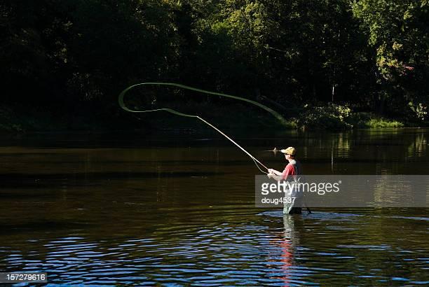 Pesca con mosca Casting