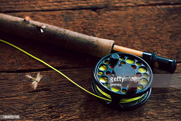 fly fishing - fly casting stock pictures, royalty-free photos & images