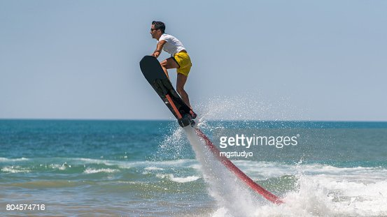 Flyboard Extreme Sport Adventure Stock Photo   Getty Images