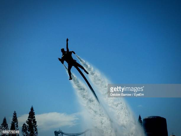 Flyboarding Man