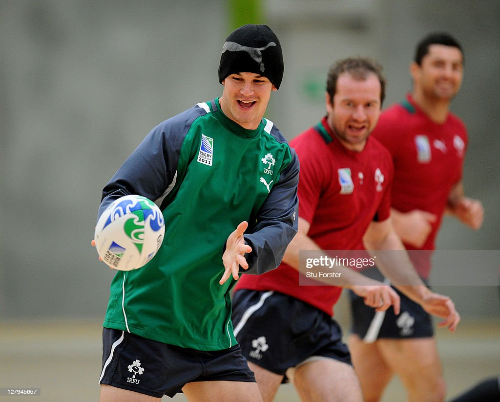 Ireland IRB RWC 2011 Training Session