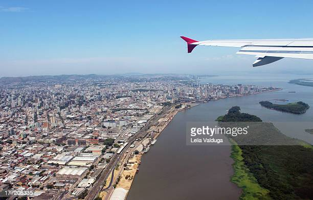 flying again porto alegre - rs - brazil! - porto alegre stock pictures, royalty-free photos & images