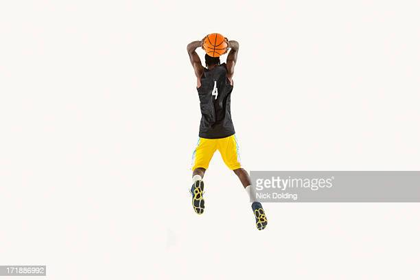 Flying Basketball Player 04