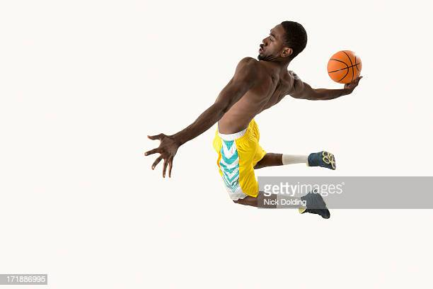 Flying Basketball Player 17