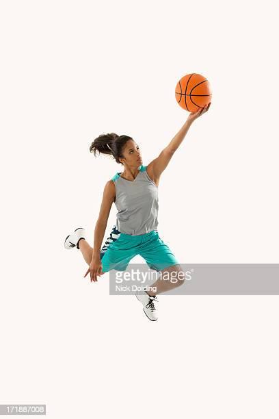 Flying Basketball Player 20