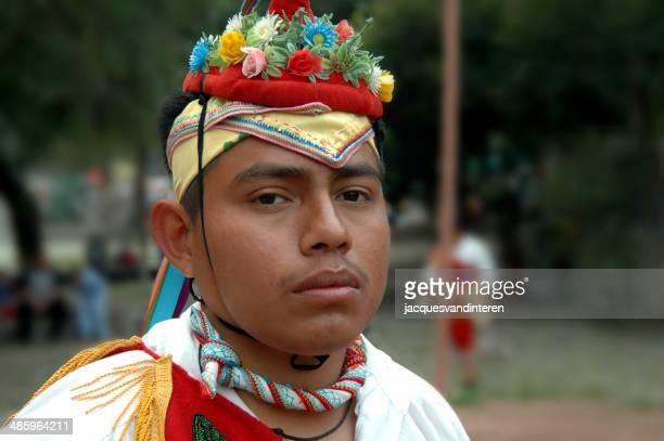Flying birdman (diputado de un grupo de danza), México