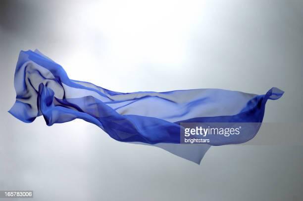 フライングブルーのシルク