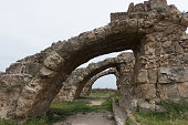 Flying buttresses, Salamis, North Cyprus