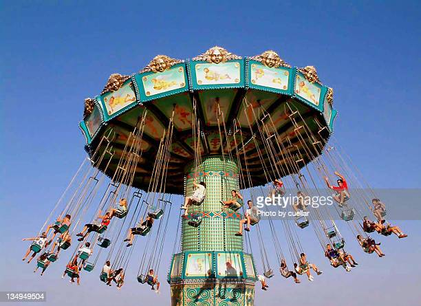 flying chairs - alicante stock pictures, royalty-free photos & images