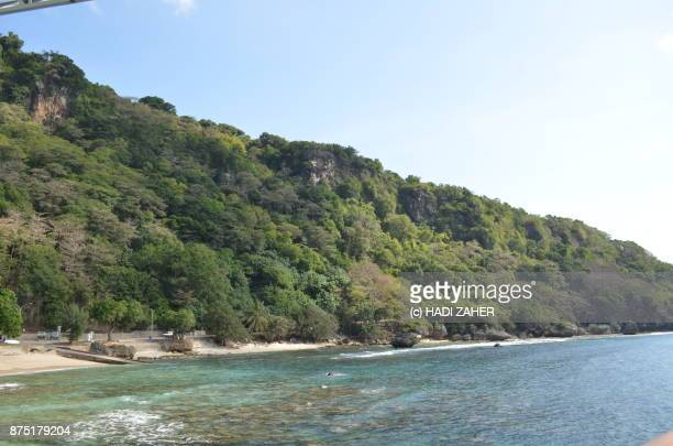flying fish cove | christmas island | australia - christmas island stock pictures, royalty-free photos & images
