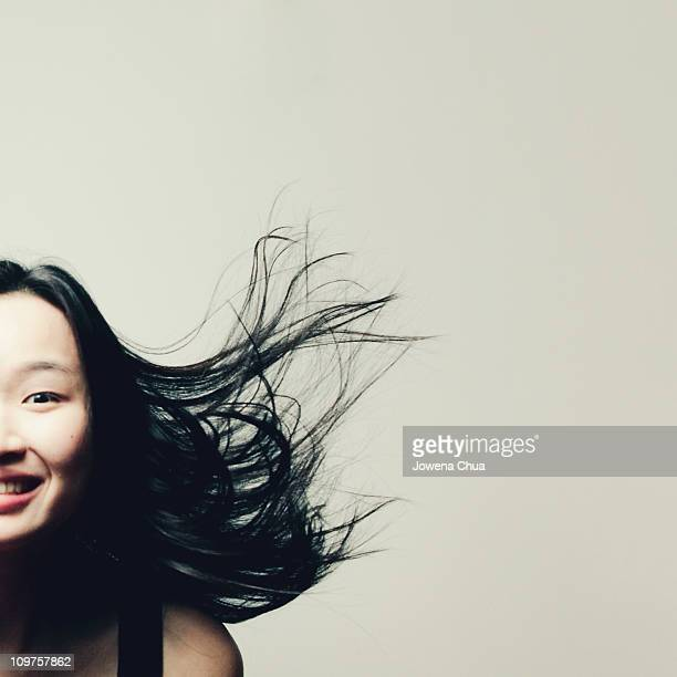 Flying Hair Portrait