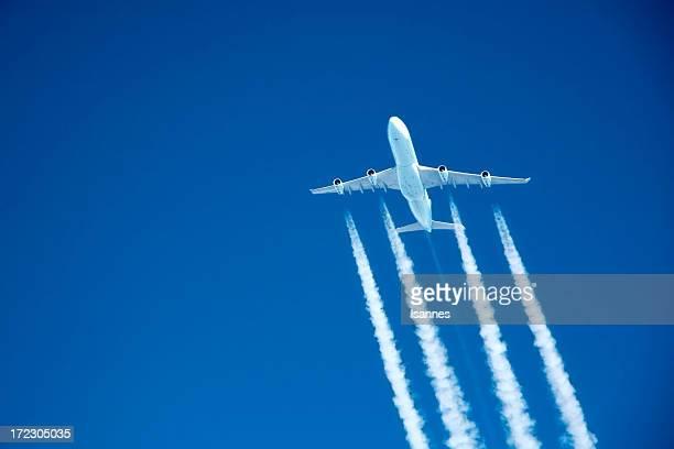 UNE SOIREE DE HAUT VOL. jet Commercial en altitude