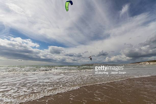 flying high in a crazy sky - s0ulsurfing stock pictures, royalty-free photos & images