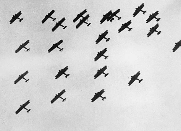 Flying In Formation Wall Art