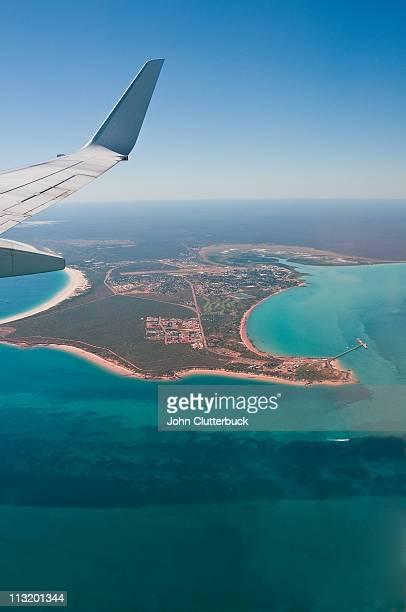 Flying into Broome WA