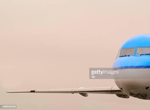 Flying KLM Airplane