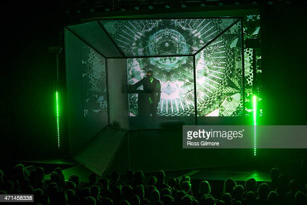 Flying Lotus performs at O2 ABC Glasgow on April 28 2015 in Glasgow United Kingdom
