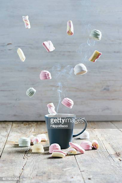 Flying Marshmallows