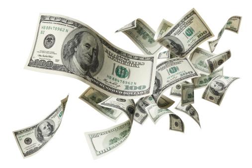flying money 182902629