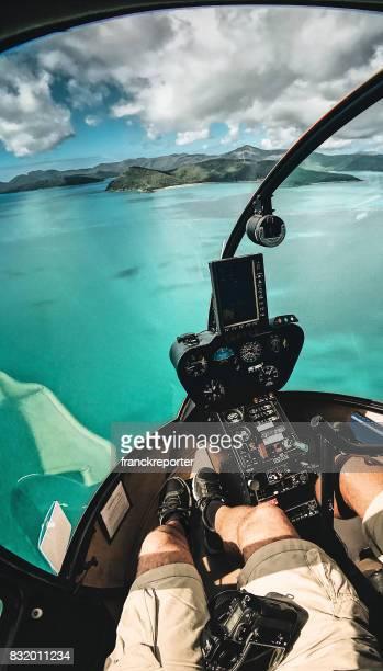 fliegen auf Whitsunday Island in Queensland-Australien