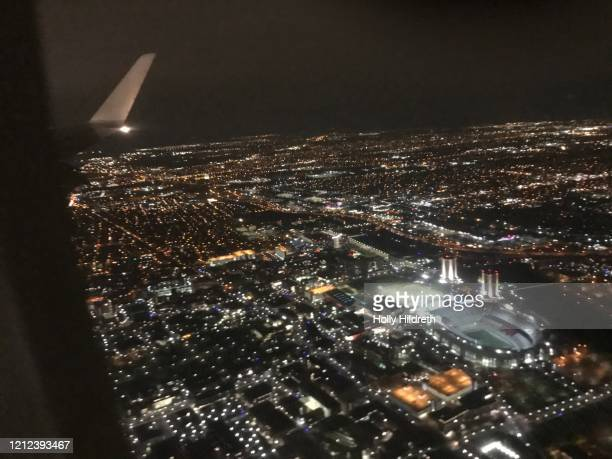 flying over columbus ohio - ncaa stock pictures, royalty-free photos & images