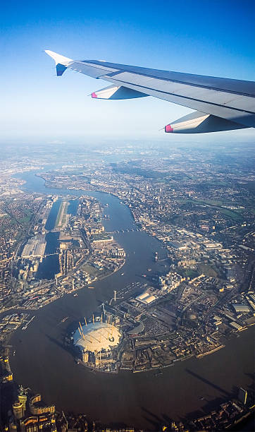Flying Over London Wall Art