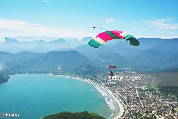 Flying over the coast - Brazil