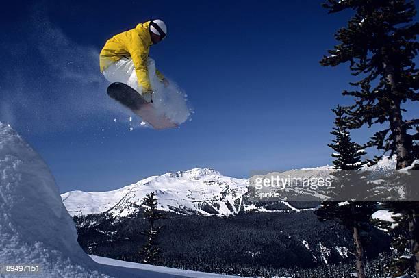 Flying over Whistler