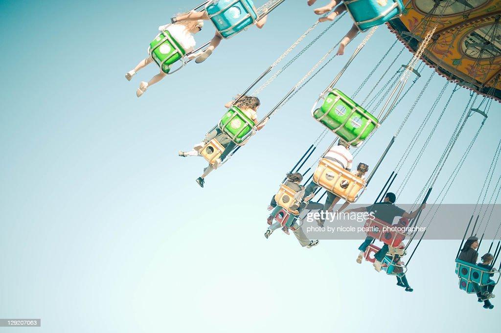 Flying : Foto de stock