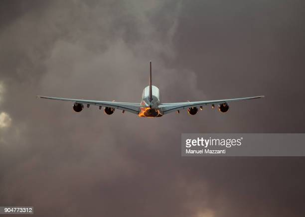A380 Flying