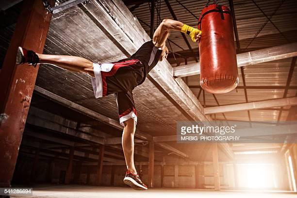 Flying punch