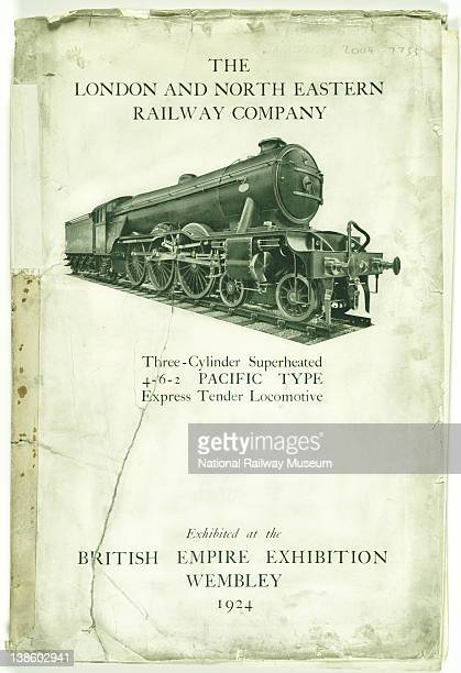 Flying Scotsman Empire Exhibition Wembley 1924 Cover