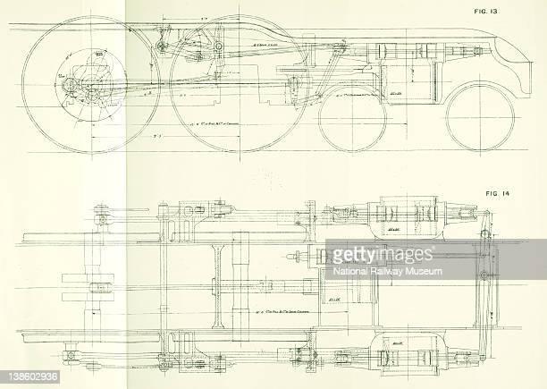Flying Scotsman Empire Exhibition Wembley 1924 Fig 13 14