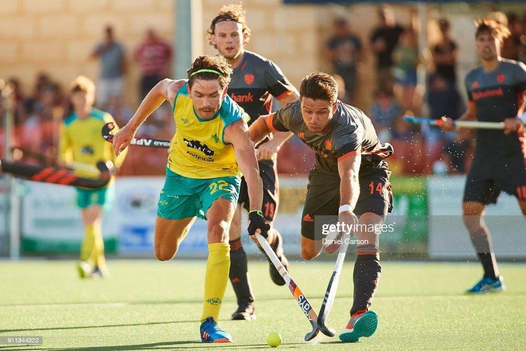Australia v Netherlands - Game 1