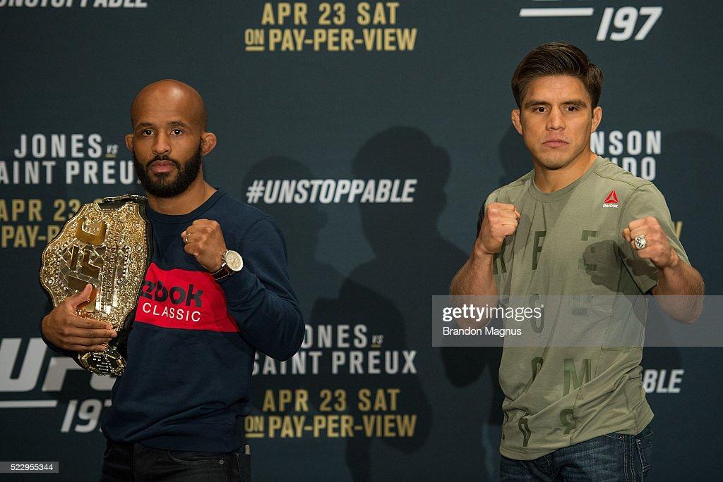 UFC 197: Ultimate Media Day : Nieuwsfoto's