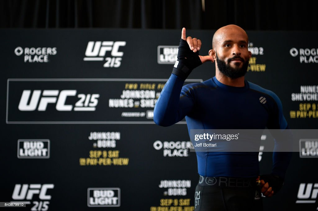 UFC 215: Open Workouts : News Photo