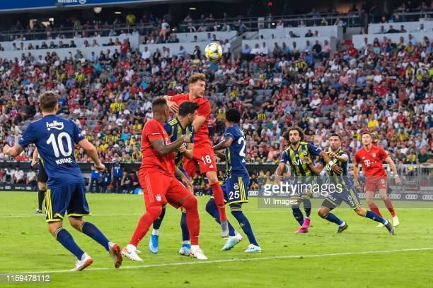 fMaximilian Kruse of Fenerbahce SK Jerome Boateng of FC Bayern Munich Ozan Tufan of Fenerbahce SK Leon Goretzka of FC Bayern Munich Jailson Marques...