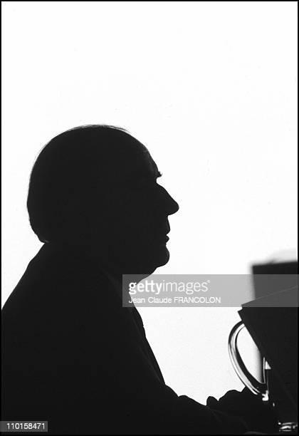 Mitterrand in France in December 1994