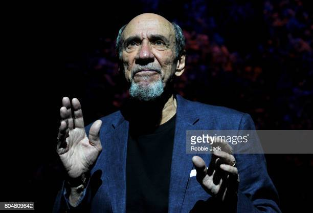 Murray Abraham as Benjamin Rubin in Daniel Kehlmann's The Mentor directed by Laurence Boswell at Vaudeville Theatre on June 29 2017 in London England