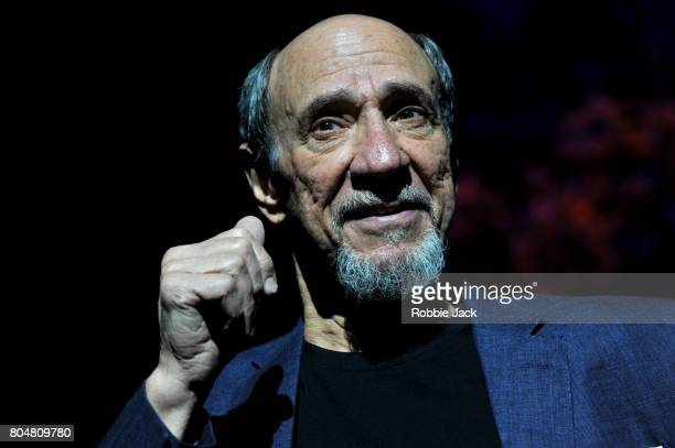 Murray Abraham as Benjamin Rubin in Daniel Kehlmann's The Mentor directed by Laurence Boswell at Vaudeville Theatre on June 29, 2017 in London,...