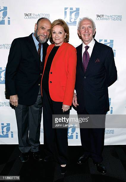 FMurray Abraham Cynthia Harris and Nathan Silverstein attend the TACT/The Actors Company Theatre Spring Gala at The Edison Ballroom on May 9 2011 in...