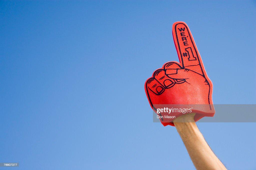Foam Finger : Stock Photo