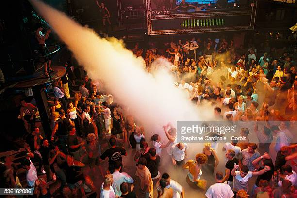 Foam Party at the Amnesia club