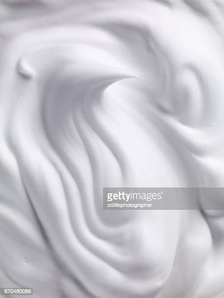 foam swirl - whipped food stock pictures, royalty-free photos & images