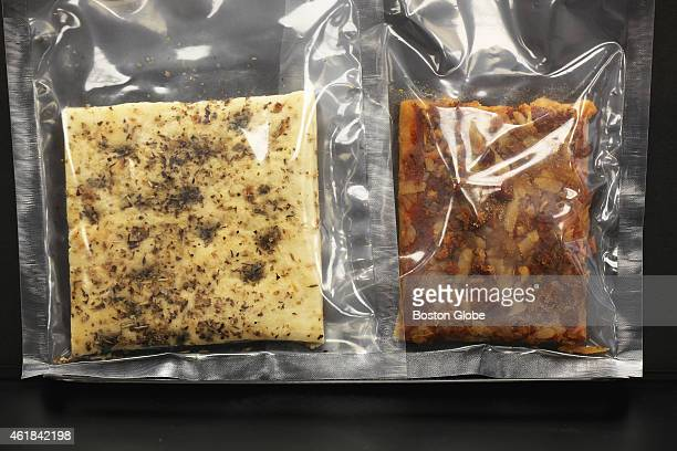 Foccacia and pepperoni pizza were developped for soldiers' MRE's at the Natick Laboratory Army Research Development and Engineering Center Thursday...